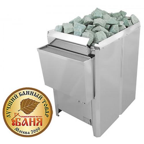 Электрическая печь для бани и сауны КРИСТИНА Tandem Soft Steam с испарителем  для больших и коммерческих саун (Напольная)