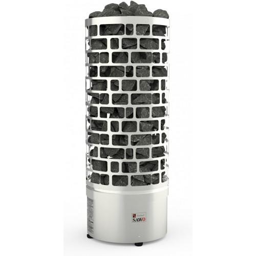 Электрическая печь SAWO ARIES ARI6-120NS-P (12 КВТ, ВЫНОСНОЙ ПУЛЬТ, НЕРЖАВЕЙКА)