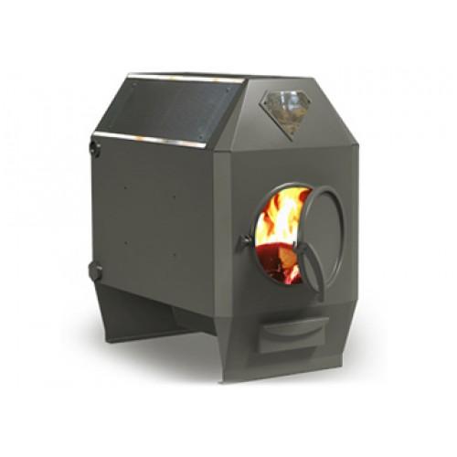 Отопительная печь длительного горения с водяным контуром Ермак-Термо 350 АКВА