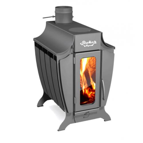 Отопительная печь с водяным контуром Stoker 120 Aqua-C