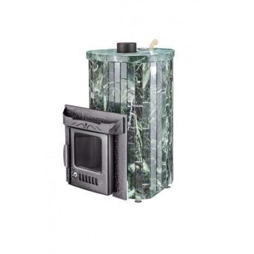 Печь для бани Мини ПФ в комплекте с кассетами'  до 18 м³ - Облицовка 'Змеевик'