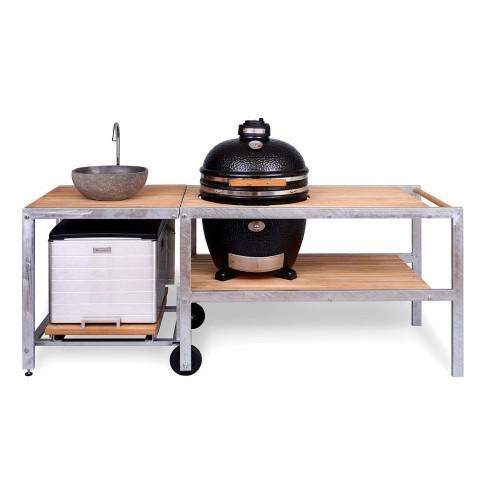 Барбекю-кухня для террасы MONOLITH GRILL Classic L большой