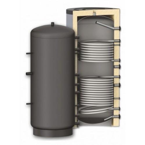 Буферная емкость PR2 с двумя теплообменниками