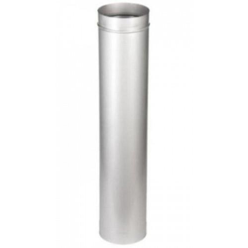 Труба 1Т AISI 409 0.5 метра для дымохода из нержавеющей стали