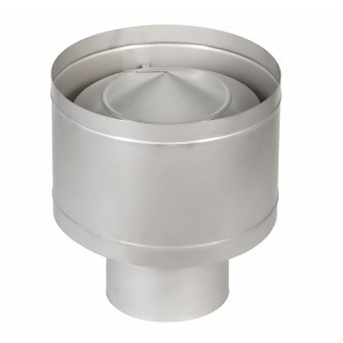 Дефлектор 1Д AISI 409 на трубу дымохода из нержавеющей стали