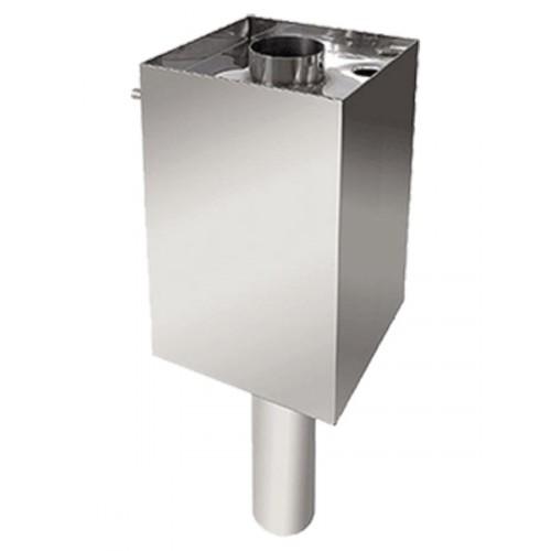 Бак 50 л AISI 409/AISI 430 на трубе, диаметр 115
