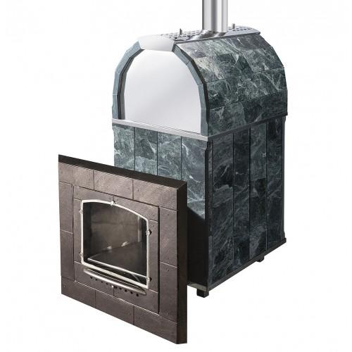 Чугунная печь для бани Калита М арочная