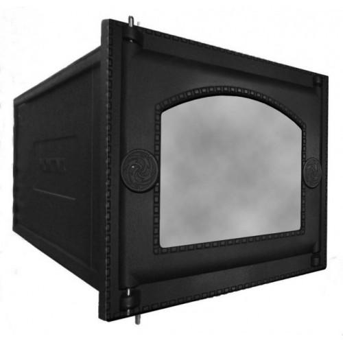 Духовка ДП-ДТ-6АС печная чугунная со стеклом без решетки