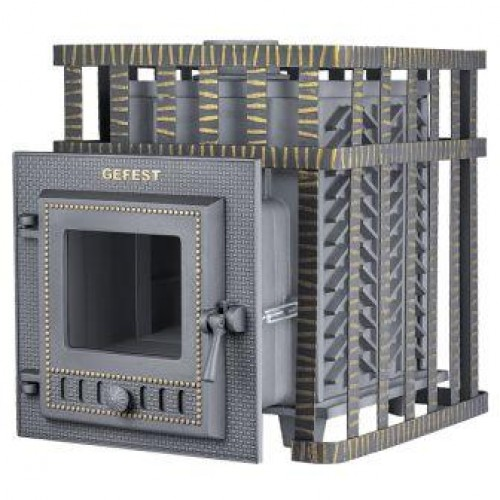 Чугунная банная печь GFS ЗК 18(М) в сетке